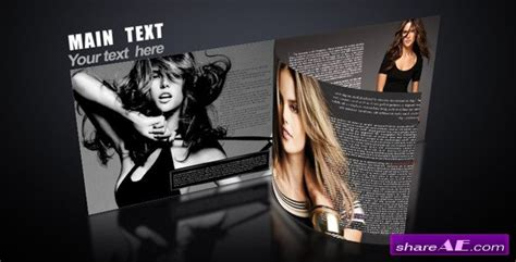 after effects free template magazine videohive magazine promo 187 free after effects templates