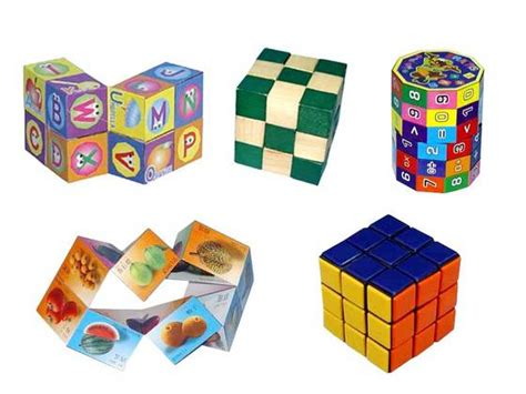 Gc Leather 4 8cm intelligent toys puzzles magic cube and blocks id