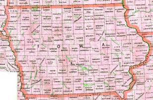 state of map with cities iowa map with cities counties state map map of usa states