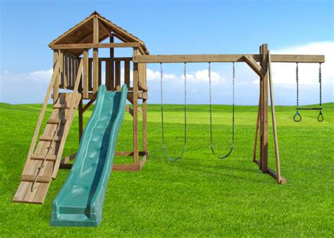 wooden swing price the crow s nest playset