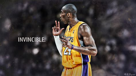wallpaper 4k nba kobe bryant hd invicible nba wallpapers basketball nation