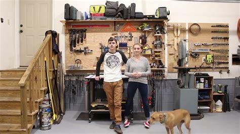shop  woodbrew workshop organization youtube