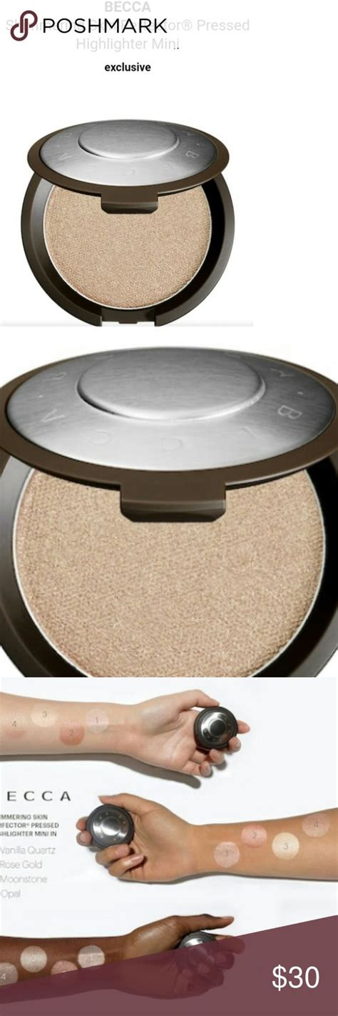 Becca Shimmering Skin Perfector Poured Creme Highlighter In Moonstone 1 best 25 becca highlighter swatches ideas on