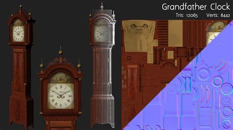 oval office clock joshua houser 3d modeler and technical artist portfolio
