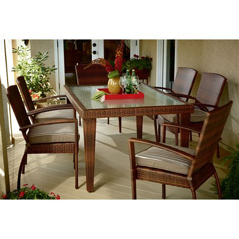 sears ty pennington patio furniture ty pennington style 65 509136 mayfield 7 pc dining
