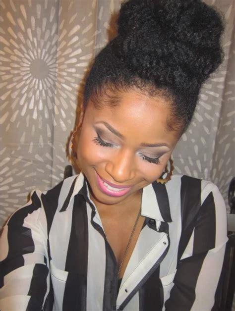 easy marley braid high bun natural hair tutorial youtube easy marley braid high bun natural hair tutorial youtube