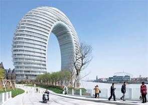 Famous Modern Architecture | sheraton huzhou hot spring resort by mad architects