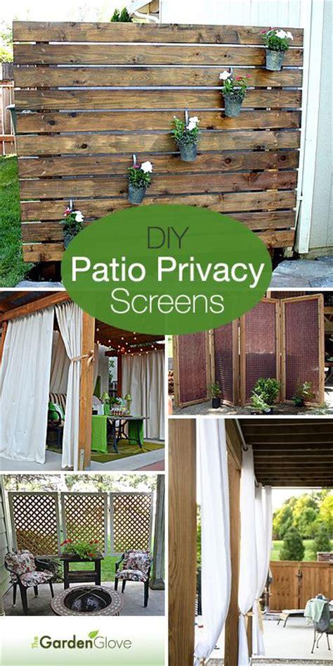 diy backyard privacy screen diy patio privacy screens gardens patio and backyards