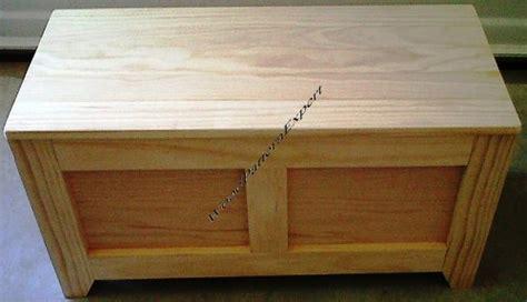 cedar chest paper plans  easy beginners