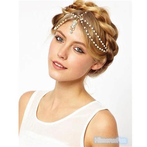 Headpiece Headband Chain fashion metal rhinestone jewelry headband chain