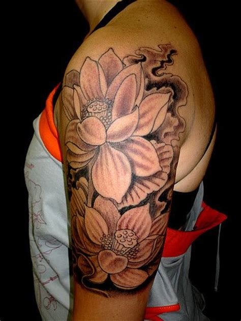 flower tattoo designs for upper arm tatto black flower for flowers tattoos