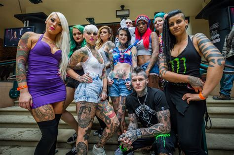 london tattoo convention 2015 artists in pictures performers of 9th international london tattoo