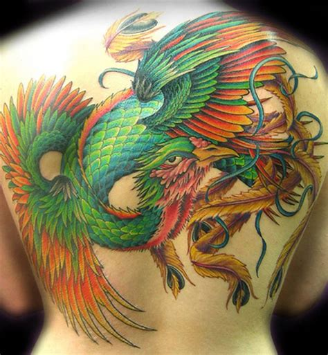 tattoo phoenix color 122 best images about bird tattoos on pinterest on back