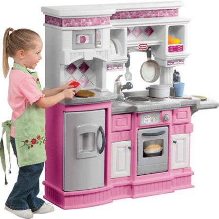 tikes gourmet prep  serve kitchen pink walmartcom