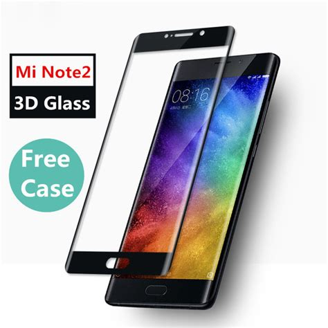 Xiaomi Mi Note 2 57 3d Curved Cover Tempered Glass Protector bakeey 3d curved cover anti explosion screen