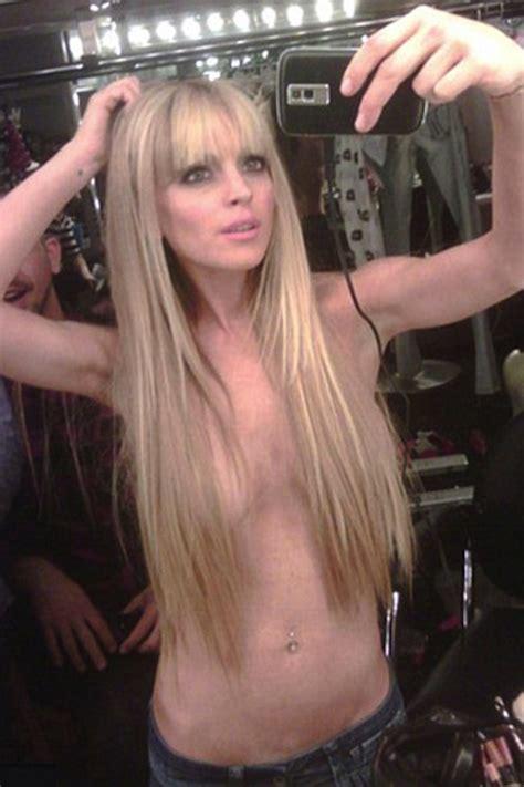 imagenes hot filtradas de famosas sexy celebrity selfies see lindsay lohan russell brand