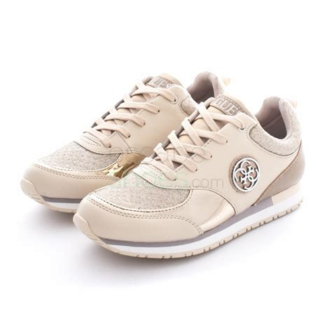 sneakers guess sneakers guess reeta leather beige flret1lea12 escapeshoes