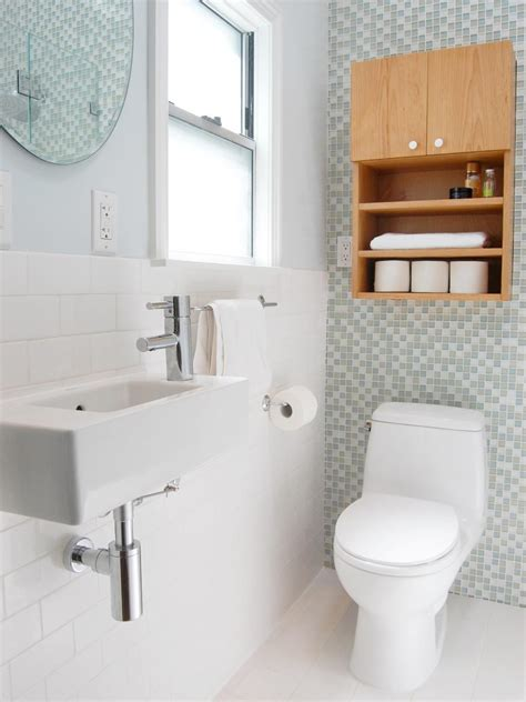 Space Bathroom - small space modern bathroom jones hgtv