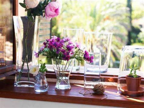 decoracion floreros de cristal decoracion de interiores como decorar un florero de
