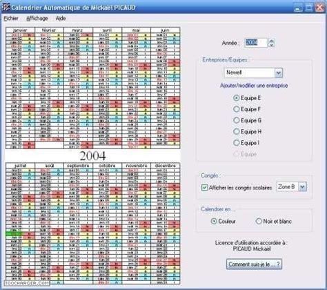 Calendrier 5x8 Exemple De 5x8