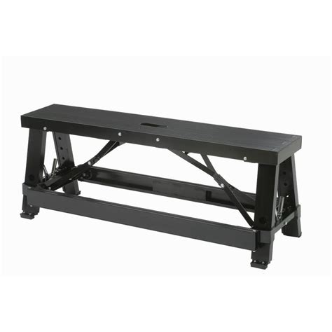 aluminium benches shop warner 28 in adjustable aluminum drywall bench at