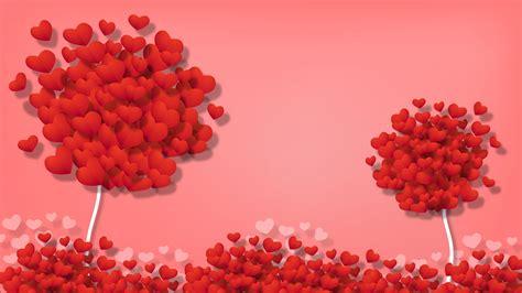 wallpaper hearts love art tree hd widescreen high
