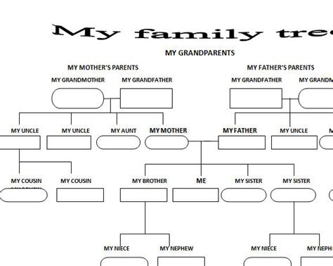 printable family tree with step parents all worksheets 187 family tree worksheets printable