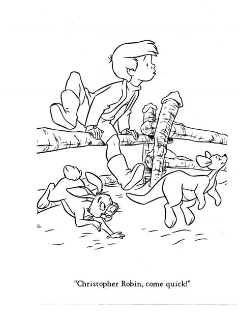 coloring pages of christopher robin christopher robin coloring pages