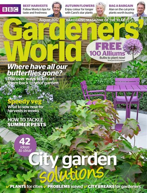 the 10 best gardening magazines magazine co uk