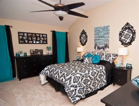 blue black and white bedroom blue and black bedroom home design