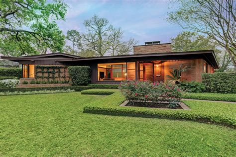 midcentury modern ranch    art house houstonia