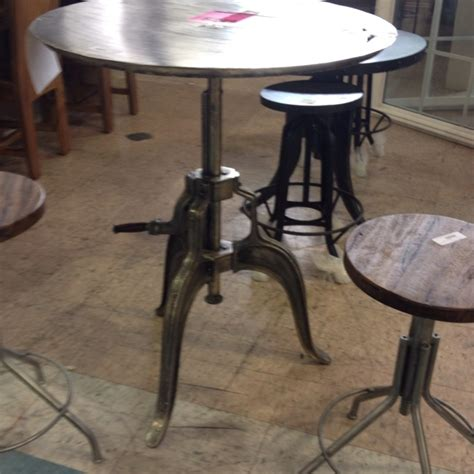 unique kitchen table ideas unique pub table and stools great for a loft kitchen or