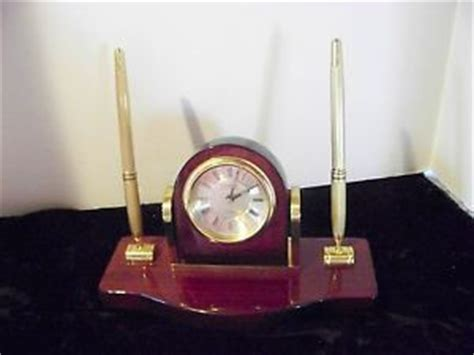 danbury desk clock pen set bombay company pen set desk set executive leather business