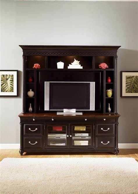 st ives   tv entertainment center  chocolate