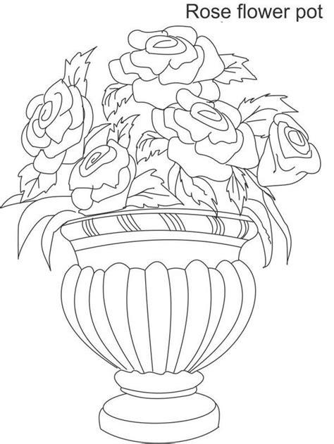 Blomst Vaser Tegninger for barn 2