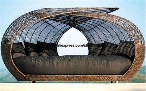 rattan liegen outdoor aliexpress buy creative rattan bed leisure