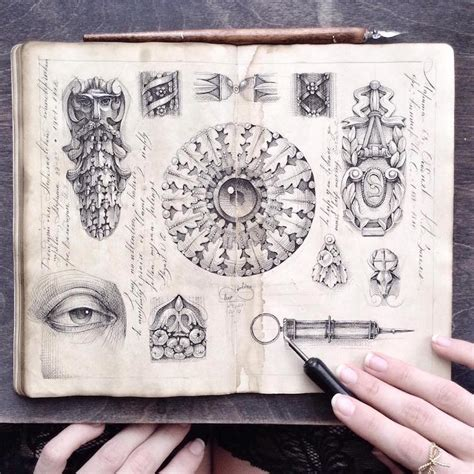 sketchbook show ink drawing sketchbook by limkina shows artist s