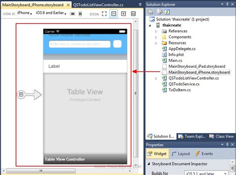 xamarin ipad tutorial ตอนท 2 การสร าง ios c xamarin ios mobile services