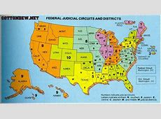 Map of Federal Courts – The Smokey Wire : National Forest ... Usdc Dc Circuit