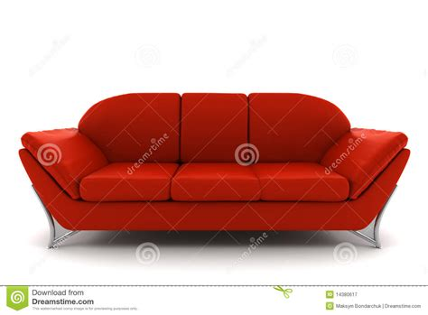 background sofa red leather sofa isolated on white background royalty free