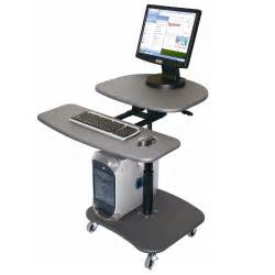 Simple management with modular mobile computer workstations