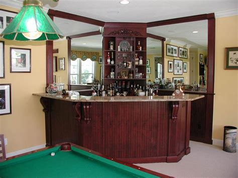 corner bar design bar area cabinet designs