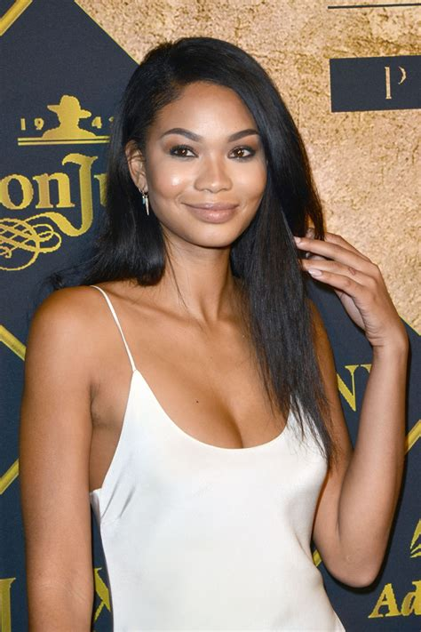 chanel iman chanel iman 2016 maxim hot 100 party in los angeles