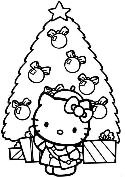 hello kitty coloring pages full size free coloring pages hello kitty christmas gianfreda net