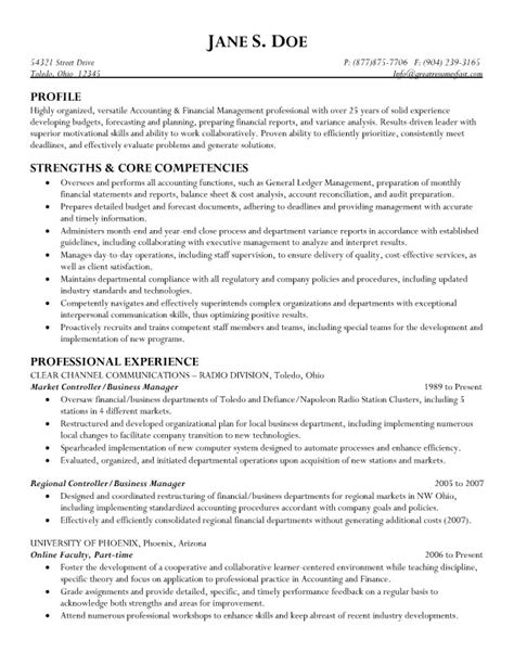 business management resume sles best business manager resume sle 2016 recentresumes