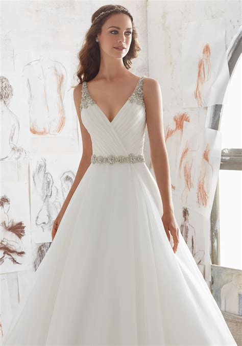 Designer Bridal Dresses by Marlowe Wedding Dress Style 5507 Morilee