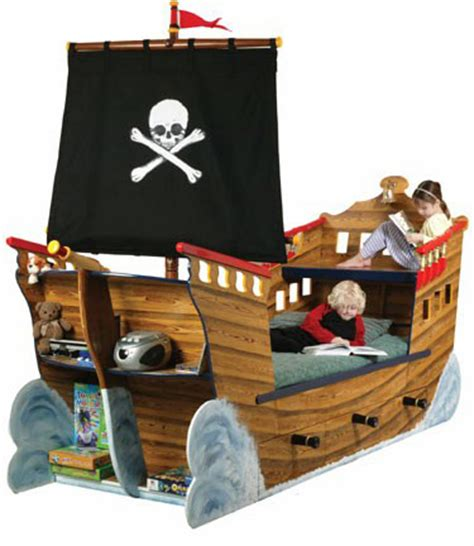 Pirate Ship Toddler Bed by 15 Stylish Creative And Cool Beds