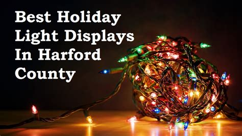 best holiday light show best holiday light displays in harford county 2015