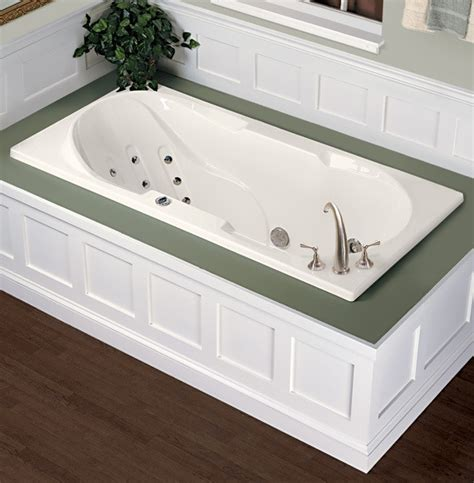 mti designer collection elan vital drop in bathtub