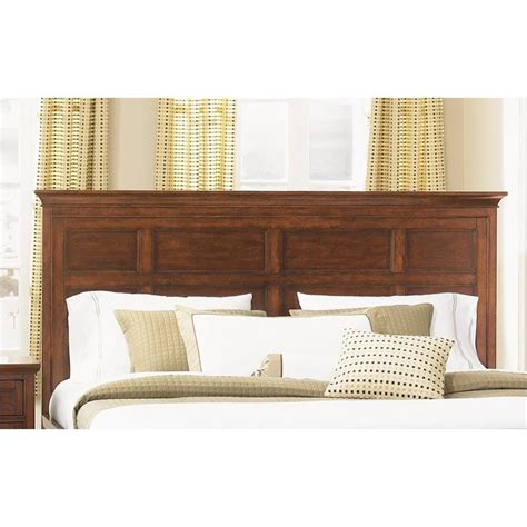 wood king headboards magnussen harrison king panel headboard in cherry b1398 64h